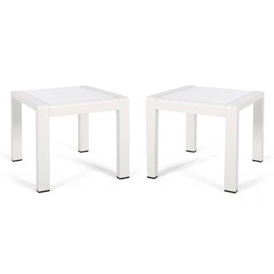 Algona Side Table (Set Of 2) by Brayden Studio Comparison