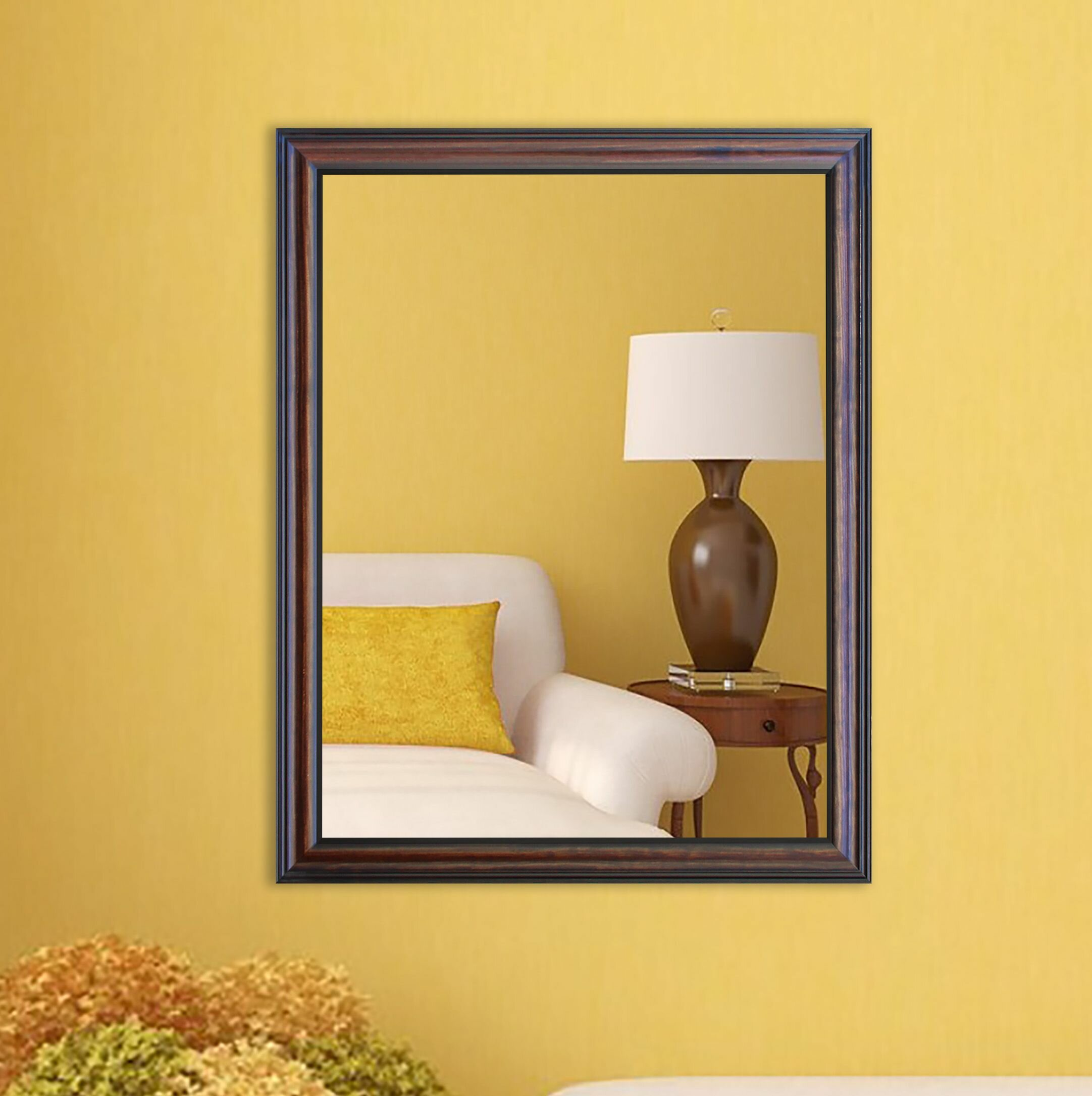 Darby Home Co Rectangle Wall Mirror & Reviews | Wayfair