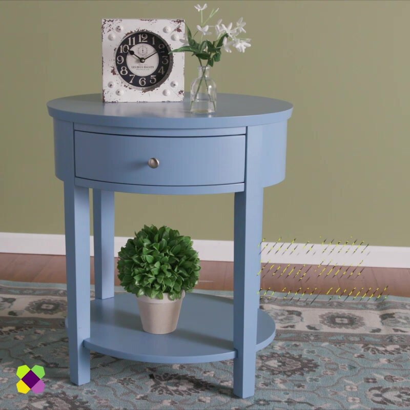 Top Three Posts Canterbury End Table with Storage & Reviews | Wayfair PC22