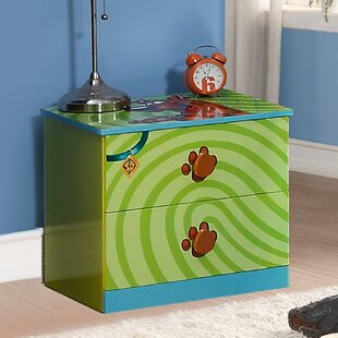 Price comparison Scooby Doo 2 Drawer Nightstand by O'Kids Inc. Reviews (2019) & Buyer's Guide