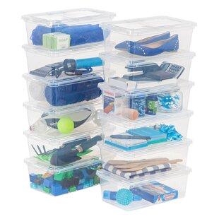 Reviews 6 qt Storage Plastic Box (Set of 12) ByIRIS USA, Inc.