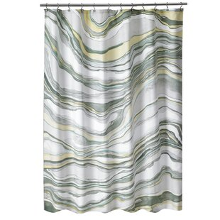 Shell Rummel Stone Shower Curtain By Popular Bath