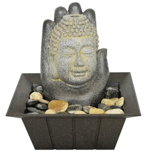 Thunderbolt Resin Buddha Fountain By Sol 72 Outdoor