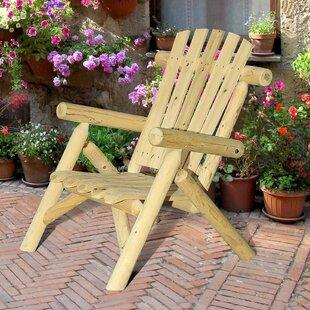 Fairbanks Solid Wood Adirondack Chair by Sunjoy