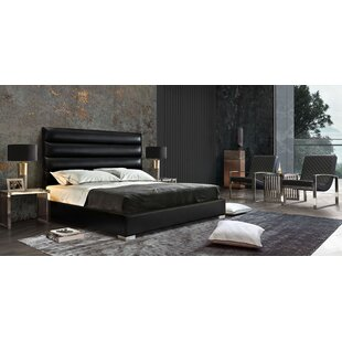 Bardot Channel Tufted Upholstered Panel Bed