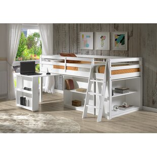 Kwinana Twin Bed with Desk and Bookcase by Mack & Milo