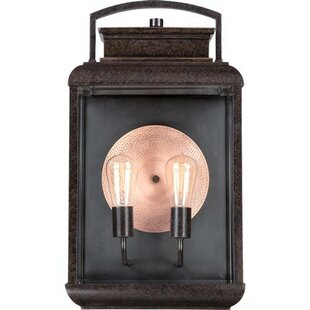 Winborne 2-Light Outdoor Wall Lantern