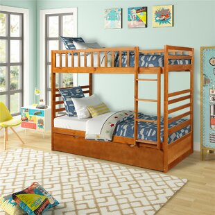 Anemone Twin over Twin Bunk Bed with Trundle by Harriet Bee