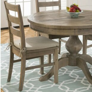 Alhambra Solid Wood Dining Chair (Set of 2) August Grove