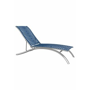South Beach Elite EZ Span Ribbon Segment Reclining Chaise Lounge