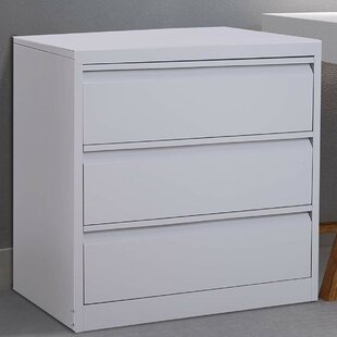 Tamra Metal 3 Drawer Lateral Filing Cabinet