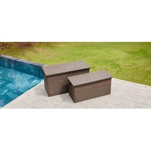 Wicker Deck Box by Direct Wicker
