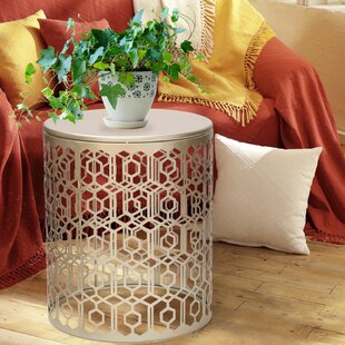 2 Piece Nesting Tables by Adeco Trading
