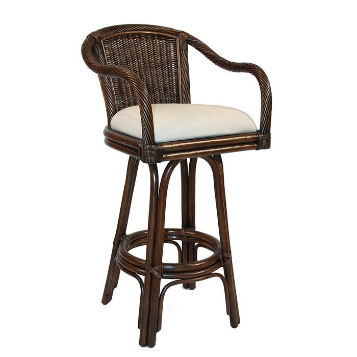 Fantastic Edgerly 24 Swivel Bar Stool Caraccident5 Cool Chair Designs And Ideas Caraccident5Info