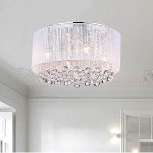Rosdorf Park Boston 4-Light Flush Mount