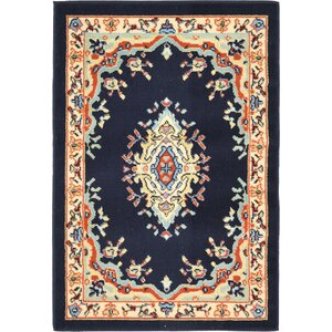 Astral Navy Blue Area Rug