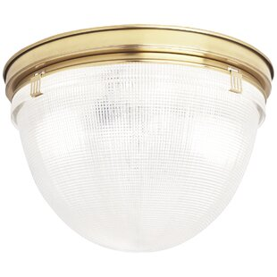 Robert Abbey Brighton 2-Light Flush Mount