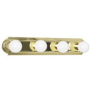 Bargain Knutson 4-Light Bath Bar By Winston Porter
