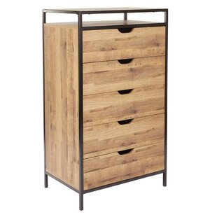 Golding 5 Drawer Standard Chest by Union Rustic
