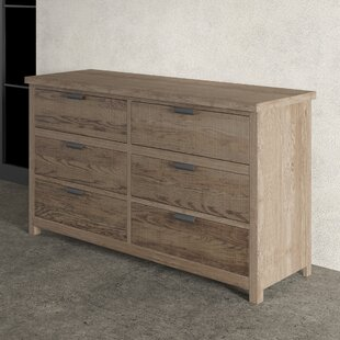 Strasburg 6 Drawer Double Dresser
