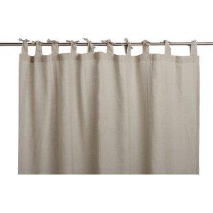 Breeze Linen Shower Curtain