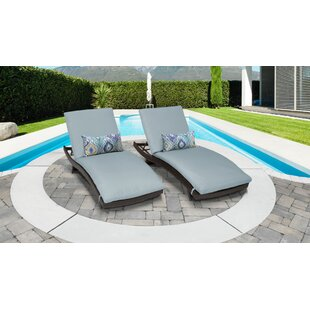 Medley Chaise Lounge with Cushion (Set of 2)