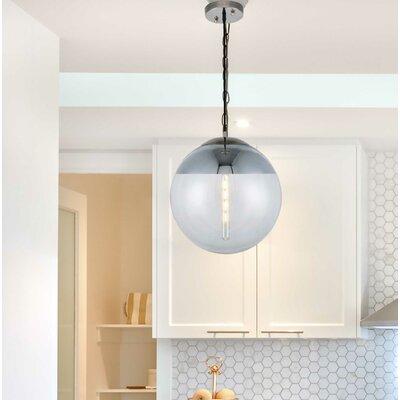 Brayden Studio Simeone 1-Light Pendant Size: 60 H x 16 W x 16 D
