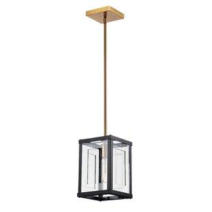 Arnone 1-Light LED Square/Rectangle Pendant by Brayden Studio