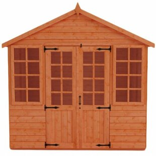 8 X 6 Ft. Shiplap Summer House By Tiger Sheds