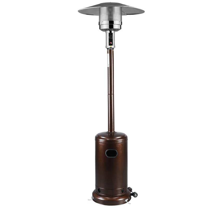 Commercial Patio Heater Garden Outdoor Heater Stainless Steel 48 000 Btu Lp Gas Yard Garden Outdoor Living Patio Garden Furniture