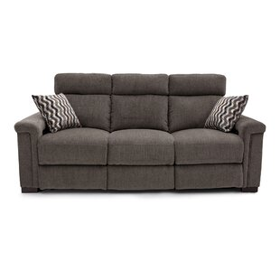 Ebern Designs Reclining Home Theater Sofa