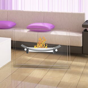 Bow Ventless Ethanol Fireplace by Regal Flame