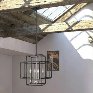 Bedingfield 4-Light Square/Rectangle Chandelier