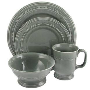 Shery 16 Piece Dinnerware Set, Service for 4