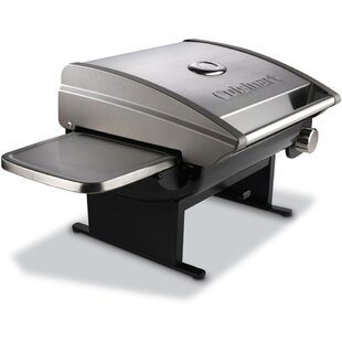 Cuisinart All-Foods Tabletop Propane Gas Outdoor Grill with Veggie Panel