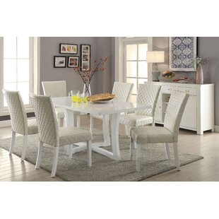 Orren Ellis Karg Contemporary 7 Piece Dining Set
