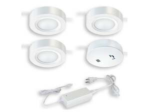 Vaxcel Instalux™ LED Under Cabinet Puck Light Kit