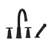 Momenti™ 4-Hole Deck Mount Tub Fillerwith C-Spout by Riobel