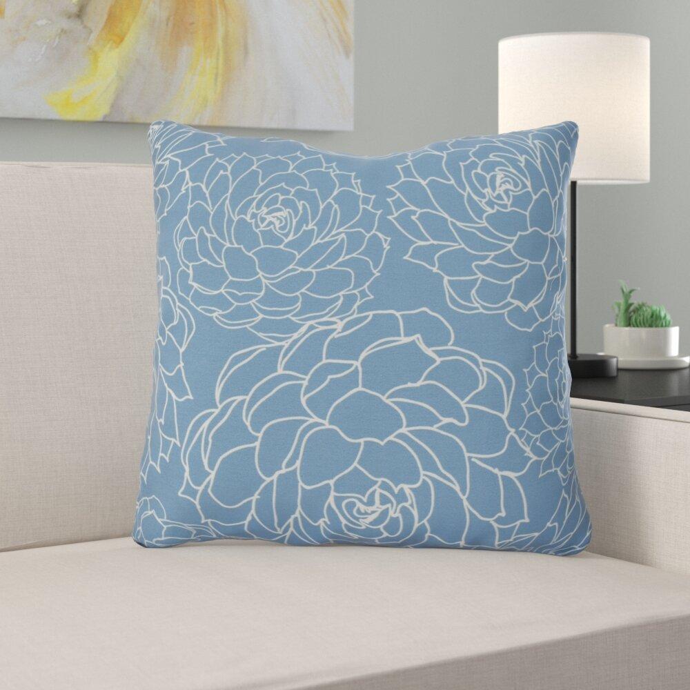 Winston Porter Altoona Outdoor Square Pillow Cover Insert Reviews Wayfair