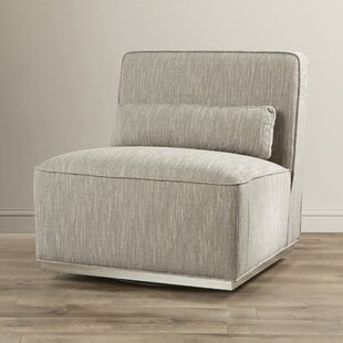 Club Swivel Slipper Chair by Sunpan Modern