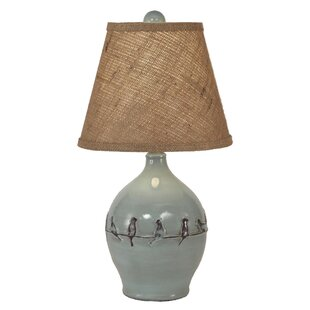 Affordable Price Haffey Birds on a Branch 19 Table Lamp By August Grove