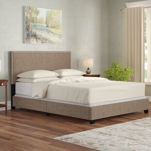 Adrienne Queen Upholstered Platform Bed