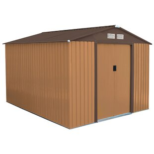 8 Ft. W X 10 Ft. D Metal Garden Shed By WFX Utility