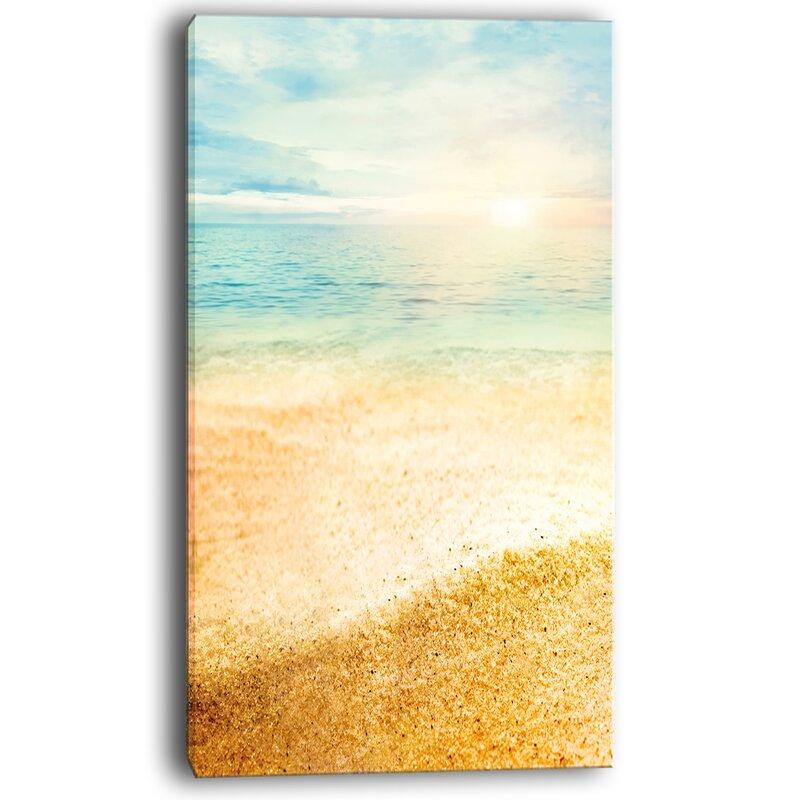Outstanding Beach Scene Wall Art Collection - All About Wallart ...