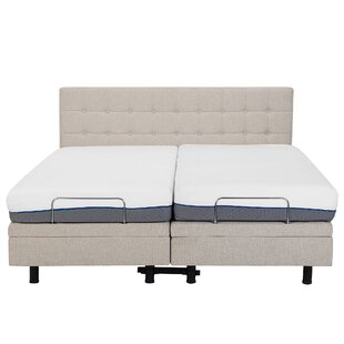 Robards European Kingsize Upholstered Adjustable Bed By Brayden Studio