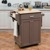 Damascus Rolling Kitchen Cart by Gracie Oaks