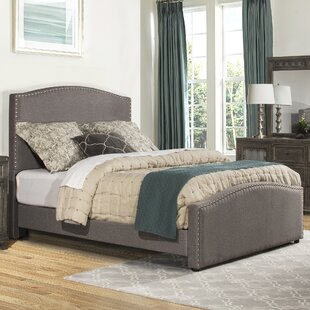 Harleigh Upholstered Panel Bed by Darby Home Co