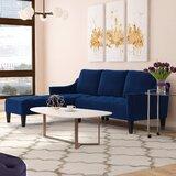 Pamila 88 Velvet Reversible Sofa & Chaise by Willa Arlo Interiors