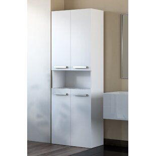 Cambree 60cm X 174cm Free Standing Cabinet By Mercury Row