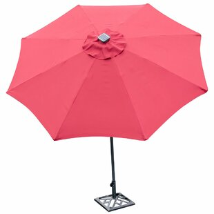 Sinclair 9' Patio LED Light Market Umbrella